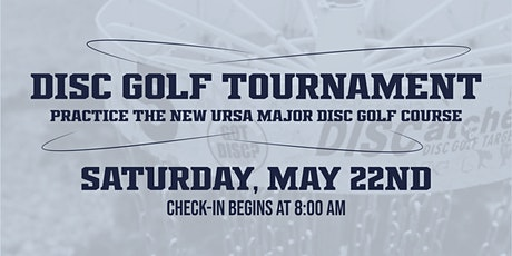 The Ursa Major Disc Golf Tournament tickets