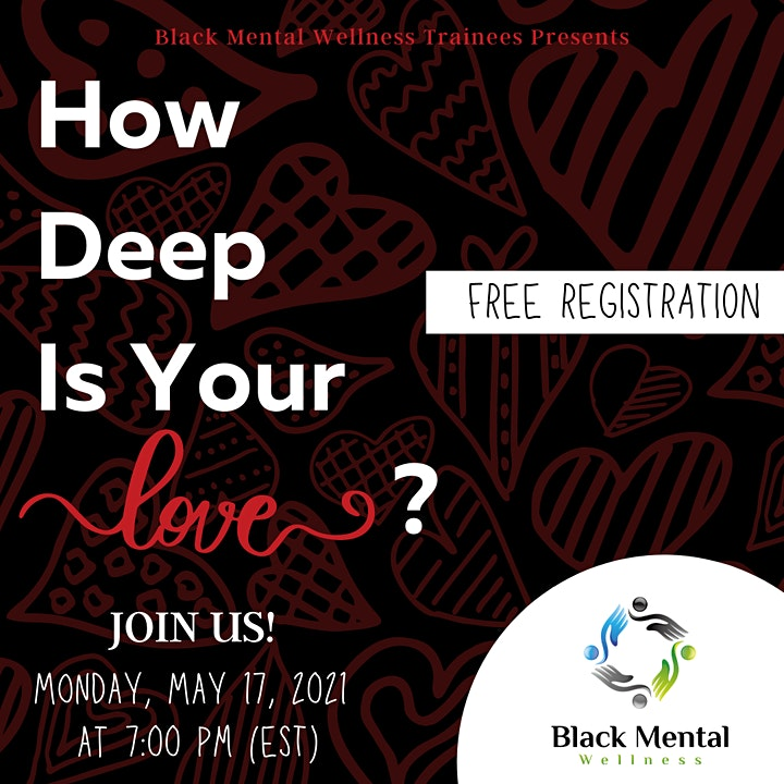 Children's Mental Health Awareness: How Deep Is Your Love? image