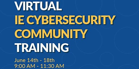 Virtual Cybersecurity Community Training biglietti