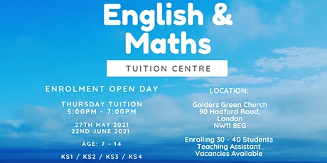 English & Maths - Tuition Centre Primary Education GCSE Starter Revision tickets