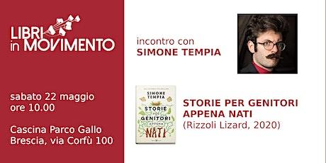 Incontro con Simone Tempia biglietti