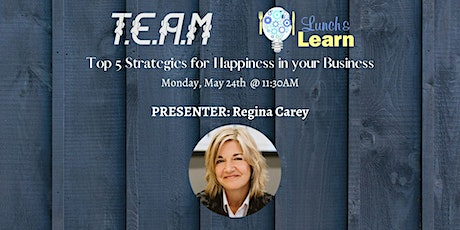 T.E.A.M Network w/ Regina Carey tickets