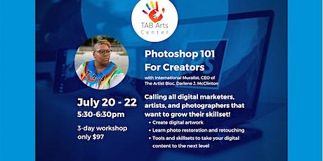 Photoshop Workshop 101 ingressos