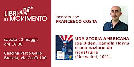 Incontro con Francesco Costa biglietti