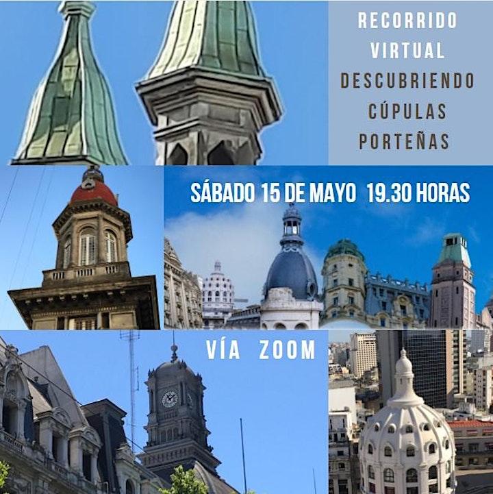 Imagen de Recorriendo cúpulas  de  Buenos Aires  desde tu casa