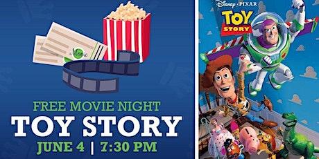 FREE Family Movie Night Toy Story tickets
