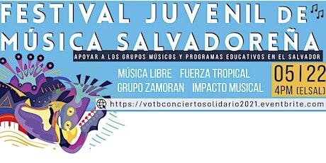 Concierto Solidario: Festival Juvenil de Música Salvadoreña boletos