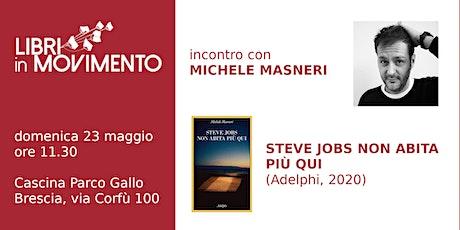 Incontro con Michele Masneri biglietti