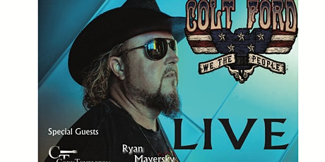 COLT FORD live at ARTIES OUTDOOR Venue  - tickets