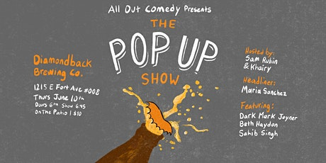 All Out Comedy Presents: The Pop Up Show tickets