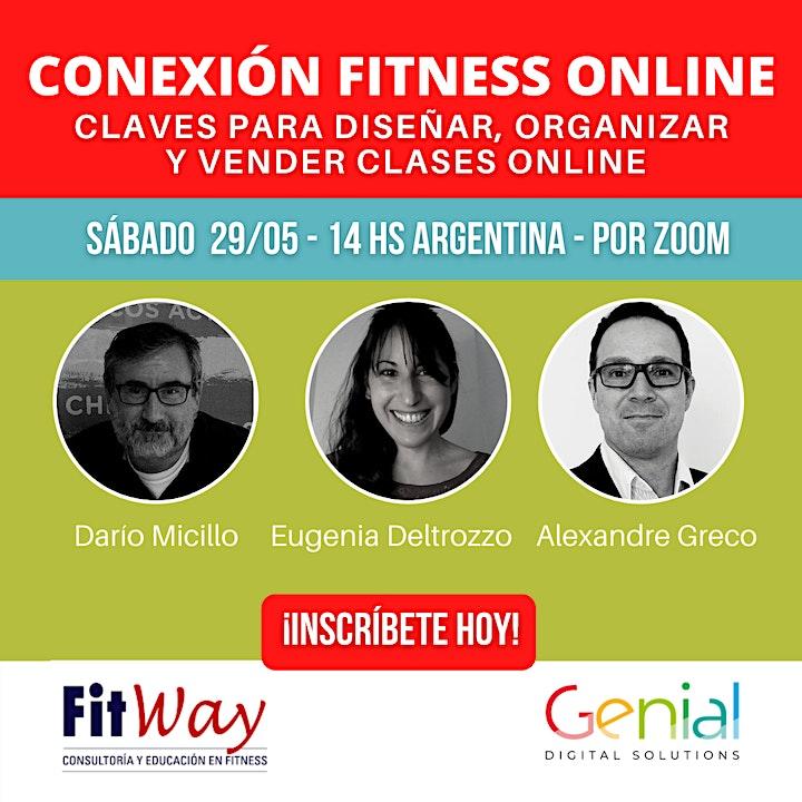Imagen de Conexión Fitness Online. Claves para diseñar, organizar y vender clases