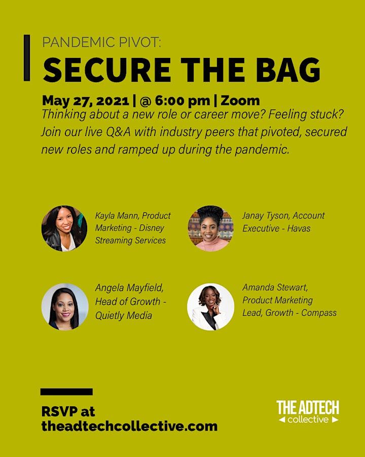 Pandemic Pivot: Secure the Bag image
