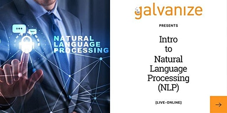 Intro to Natural Language Processing (NLP) [Live-Online] tickets