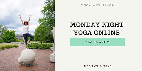 Monday Night Yoga Online tickets