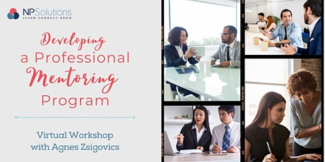 Developing a Professional Mentoring Program tickets