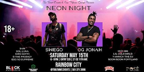 Neon Night at Rainbow City tickets