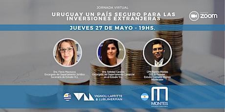 Uruguay un país seguro para las inversiones extranjeras entradas