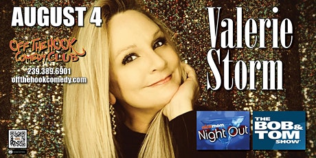 Comedian Valerie Storm live at  Off The Hook Comedy Club in Naples, Florida tickets