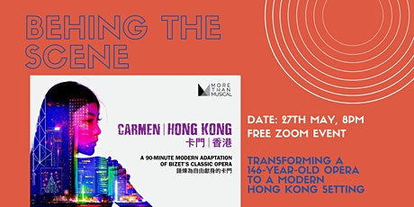 Behind the Scene of Carmen Hong Kong tickets