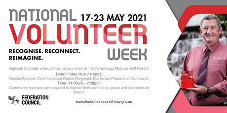 Federation Council Volunteer Week Luncheon tickets