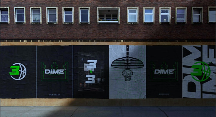 DIME BASKETBALL | 3x3 pick up image