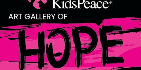 KidsPeace Art Gallery of Hope tickets