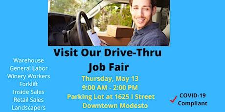 Drive Thru Job Fair tickets