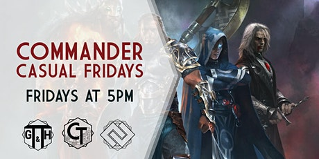 Commander Casual Fridays! tickets