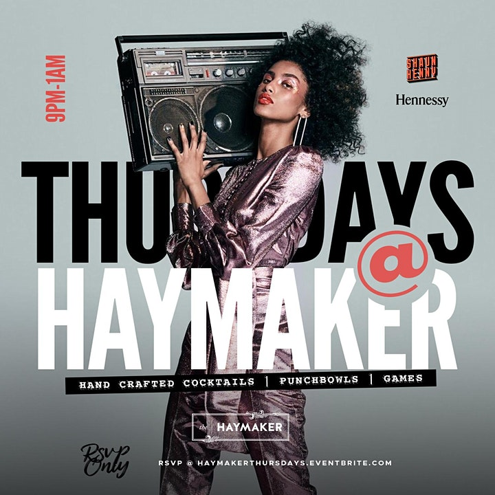 Thursday Nights @ The Haymaker Raleigh image