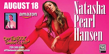 Comedian Natasha Pearl Hansen at Off The Hook Comedy Club in Naples, FL tickets