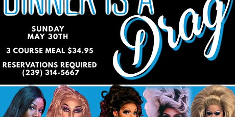 Drag Me To Dinner Show tickets