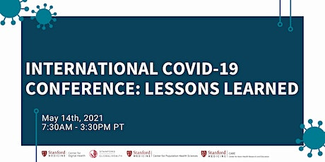 International COVID-19 Conference: Lessons Learned tickets