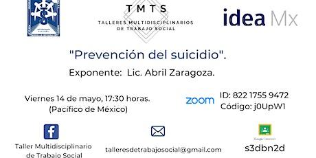 Taller: Prevención del suicidio. entradas