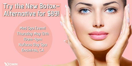 Nufaces Day Spa Medspa Event in Encinitas, CA this Thursday May 13th! tickets