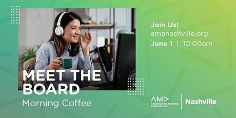 Meet the Board - Morning Coffee tickets