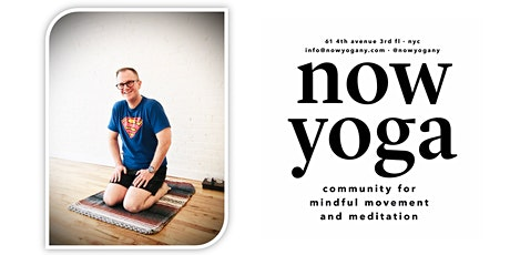 Yoga Fridays with James Harper tickets