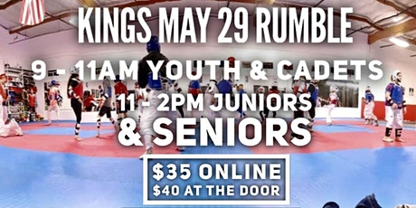 Kings Combat Sports - May 29 Rumble tickets