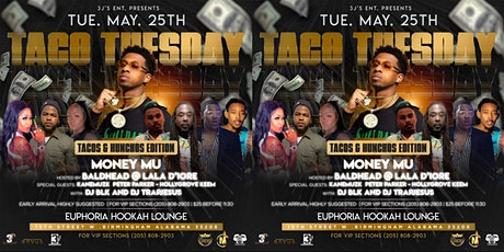 MONEY MU Live at EUPHORIA HOOKAH LOUNGE hosted by Bald Head & Lala D'iore tickets