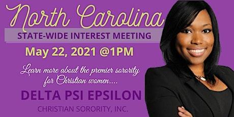 Delta Psi Epsilon Christian Sorority Interest Meeting Tickets