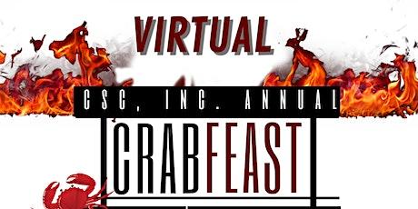 CSC Annual Crab Feast 2021 tickets