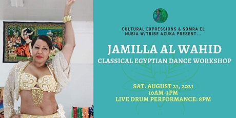 Jamilla Al Wahid Egyptian Dance Workshop tickets