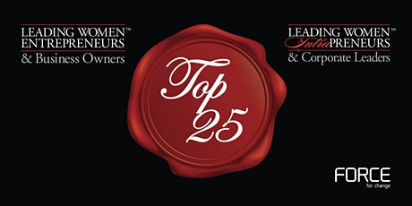 THE 2021 TOP 25 LEADING WOMEN VIRTUAL RECOGNITION EVENT tickets