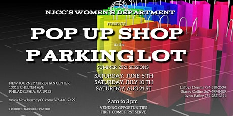 NJCC Pop-up Shop in the Parking Lot tickets