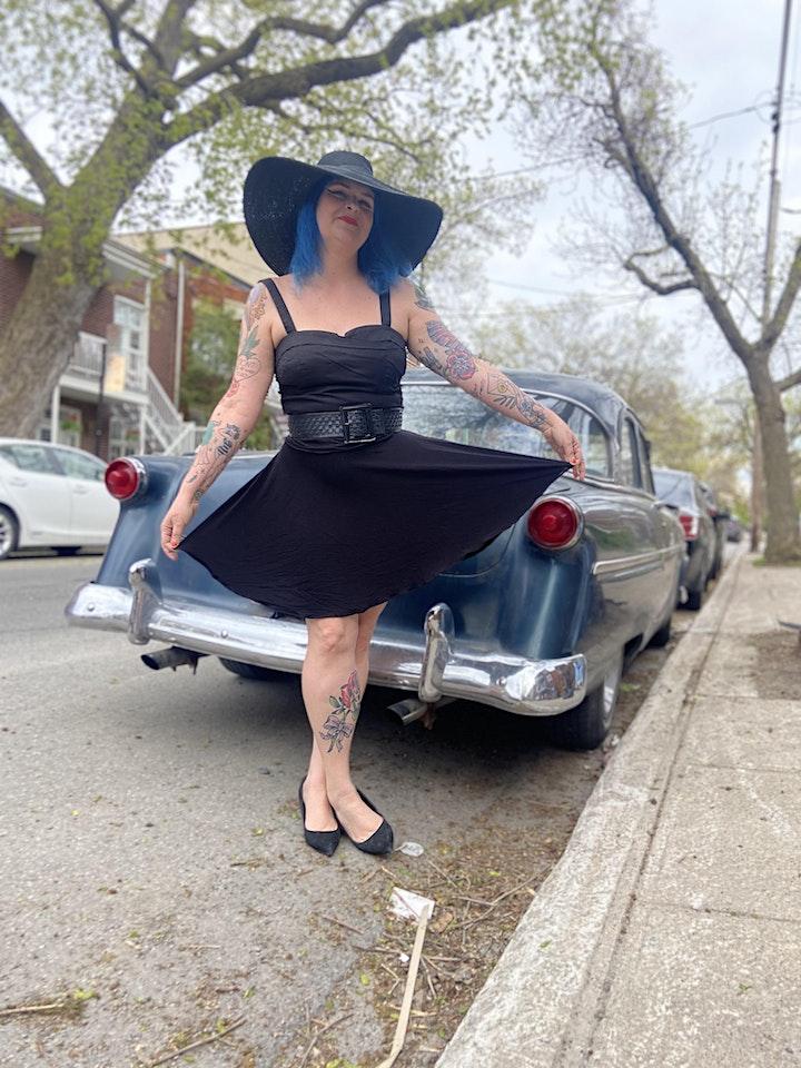 Image de ATELIER | COUTURE: Fabriquer une jupe circulaire sans fermeture éclair