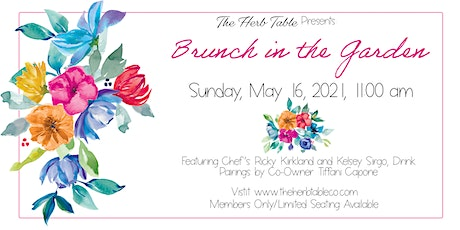 The Herb Table Presents: Brunch in the Garden tickets
