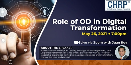 Role of the OD in Digital Transformation tickets