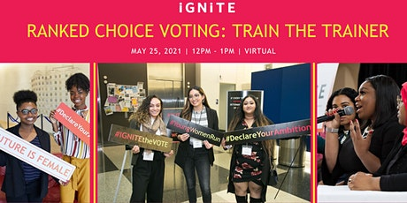 Ranked Choice Voting : Train the Trainer tickets