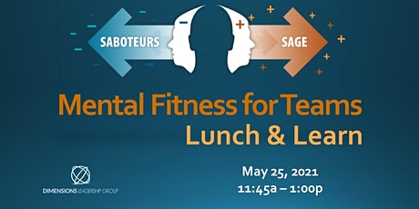 Mental Fitness for Teams Lunch & Learn tickets