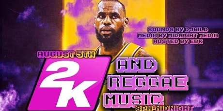 2K And Reggae Music tickets