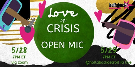 Love in Crisis Open Mic Night tickets